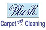 PLUSH CARPET DRY CLEANING logo