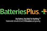 BATTERIES PLUS LEHI logo