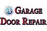 A PLUS GARAGE DOORS logo