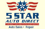 5 STAR AUTO DIRECT logo