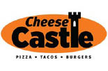 CHEESE CASTLE PIZZA logo