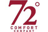 72 DEGREES HOME COMFORT CO. logo