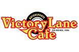 VICTORY LANE MOTOR SPORTS CAFE logo