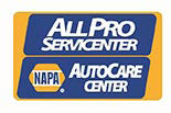 ALL PRO SERVICENTER logo