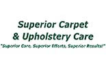 SUPERIOR CARPET & UPHOLSTERY CARE logo