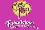 OVER THE TOP FABULICIOUS ICE CREAM & CHOCOLATE logo
