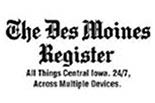 THE DES MOINES REGISTER logo
