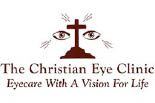 THE CHRISTIAN EYE CLINIC logo