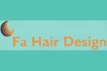 FA HAIR DESIGN logo
