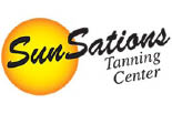 SUNSATIONS TANNING logo