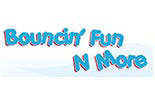 BOUNCIN' FUN N MORE logo