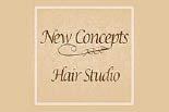 New Concepts Hair Salon logo