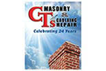 CT'S CAULKING & MASONRY logo