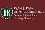 RYAN & RYAN CONSTRUCTION logo