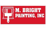 M. BRIGHT PAINTING logo