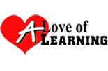 A LOVE OF LEARNING logo