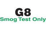 G-8 Smog Test Only logo