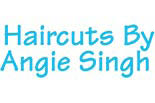 HAIRCUTS BY ANGIE logo