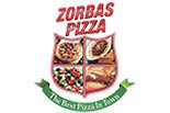 ZORBAS PIZZA logo