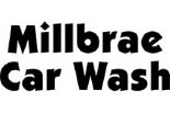 MILLBRAE CAR WASH logo