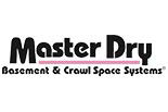 MASTER DRY BASEMENT & CRAWL SPACE SYSTEMS logo