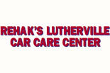 REHAK'S LUTHERVILLE CAR CARE CENTER logo