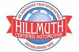 HILLMUTH CERTIFIED AUTOMOTIVE logo