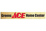 GREENS ACE HOME CENTER logo
