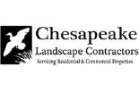 CHESAPEAKE LANDSCAPE CONTRACTORS logo