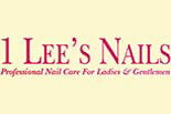 1 LEE NAILS logo