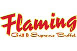 FLAMING GRILL & BUFFET logo