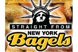STRAIGHT FROM NEW YORK BAGELS logo