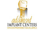 ADVANCED IMPLANT CENTERS logo