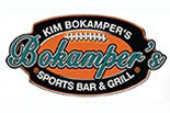BOKAMPERS SPORTS BAR AND GRILL logo