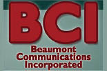 BEAUMONT COMMUNICATIONS logo