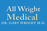 ALL WRIGHT MEDICAL CLINIC logo