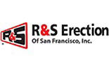 R & S ERECTION OF SAN FRANCISCO logo