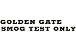 GOLDEN GATE SMOG logo