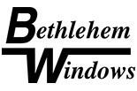 BETHLEHEM WINDOWS logo