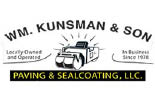 WM KUNSMAN AND SON logo