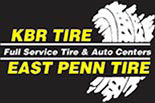 KBR TIRE EAST PENN TIRE logo