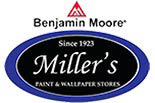 MILLER PAINT & WALLPAPER STORES logo