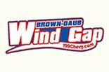 BROWN DAUB WIND GAP logo