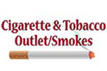CIGARETTE & TOBACCO OUTLET/SMOKES logo