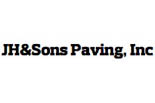 JH & SONS PAVING logo