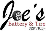 JOE'S BATTERY AND TIRE SERVICE logo
