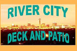 River City Decks and Patios logo