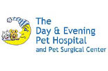 DAY & EVENING PET HOSPITAL logo