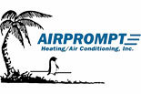 AIR PROMPT HEATING & AIR CONDITIONING logo