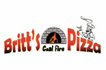 BRITT'S COAL FIRE PIZZA logo